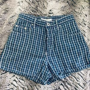 Vintage old Navy Gingham Shorts